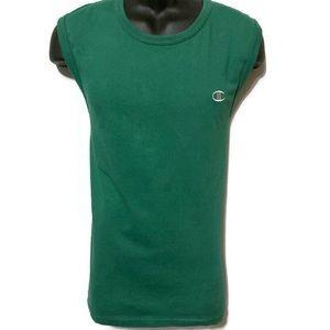 Champion Men's Green Tank Top